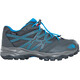 The North Face Junior Hedgehog Hiker WP Shoes Graphite Grey/Brilliant Blue